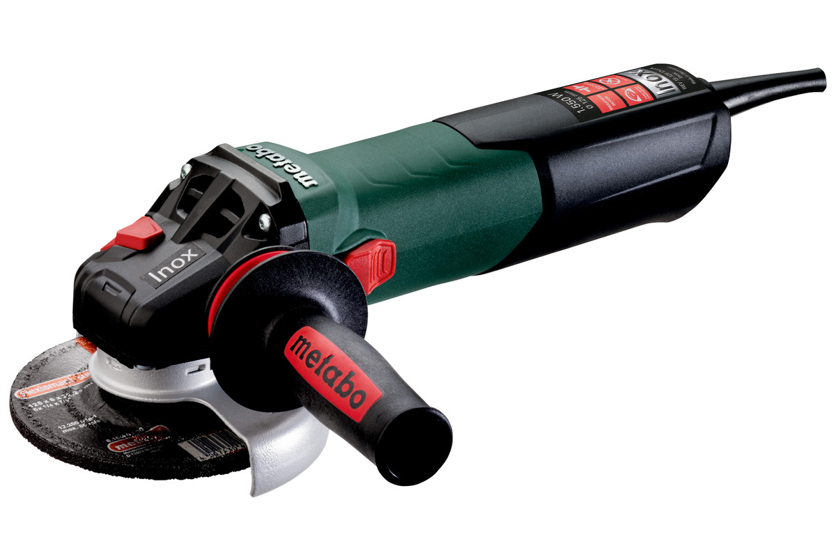 WEV 15-125 Quick Inox (600572180) Smerigliatrice angolare