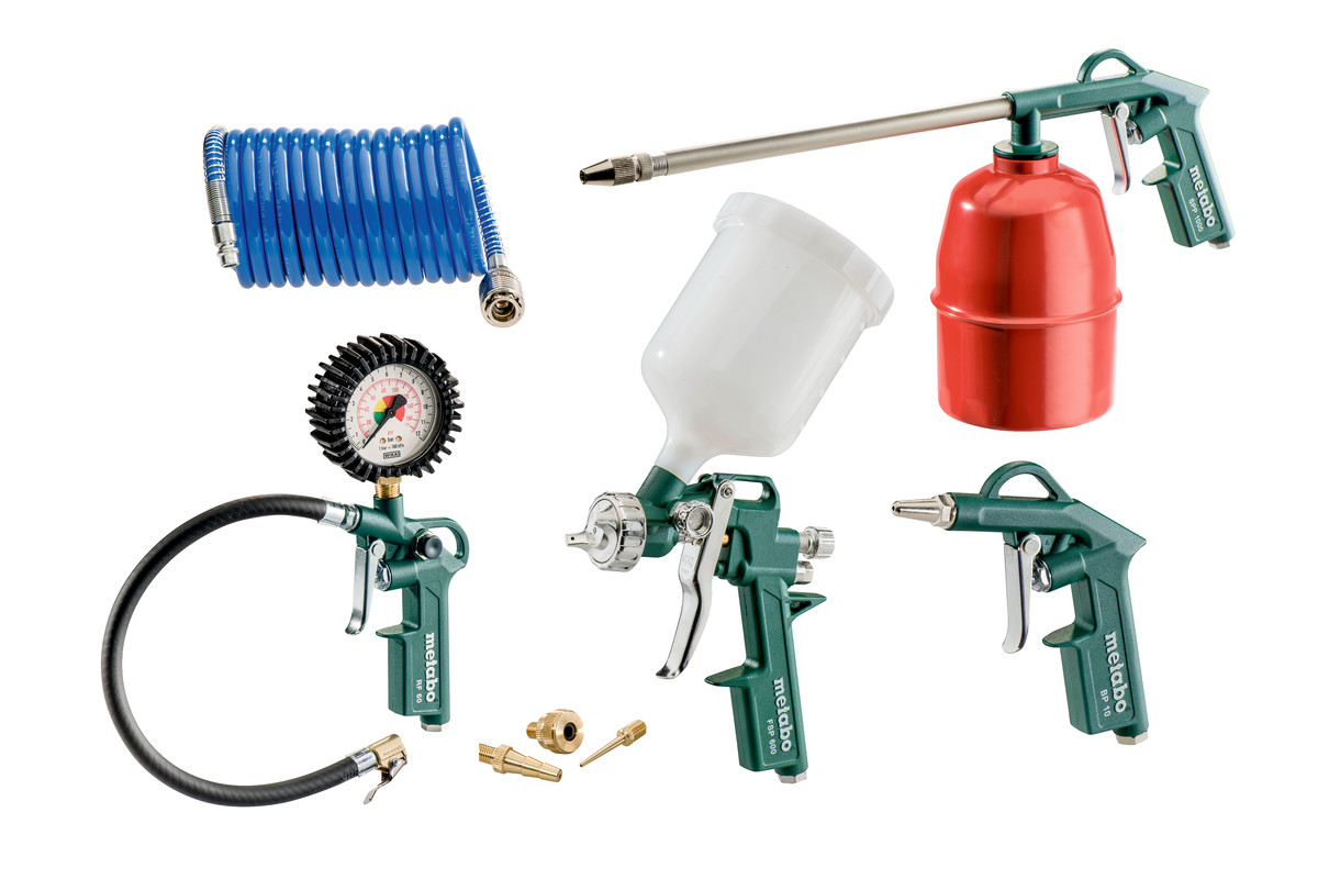 LPZ 7 Set (601586180) Set utensili ad aria compressa