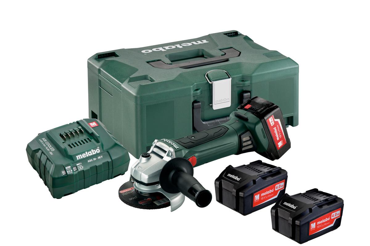 W 18 LTX 125 Quick Set (602174960) Smerigliatrice angolare a batteria