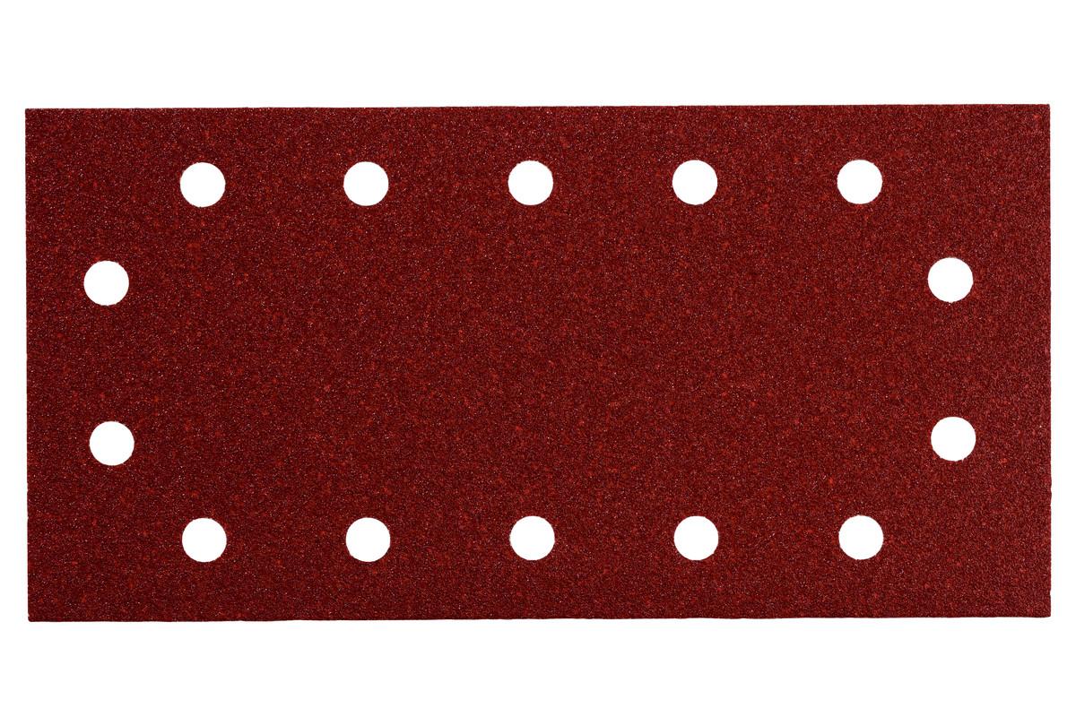 10 feuilles abrasives auto-agrippantes 115 x 230 mm, P 80, B+M, pour ponceuse vibrante (625788000)