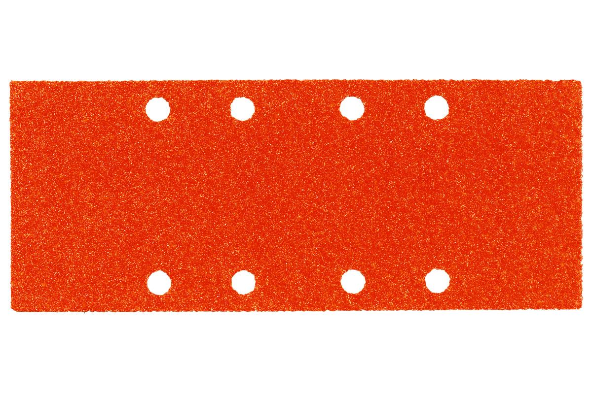 10 feuilles abrasives auto-agrippantes 93 x 230 mm, P 100, bois, pour ponceuse vibrante (624829000)