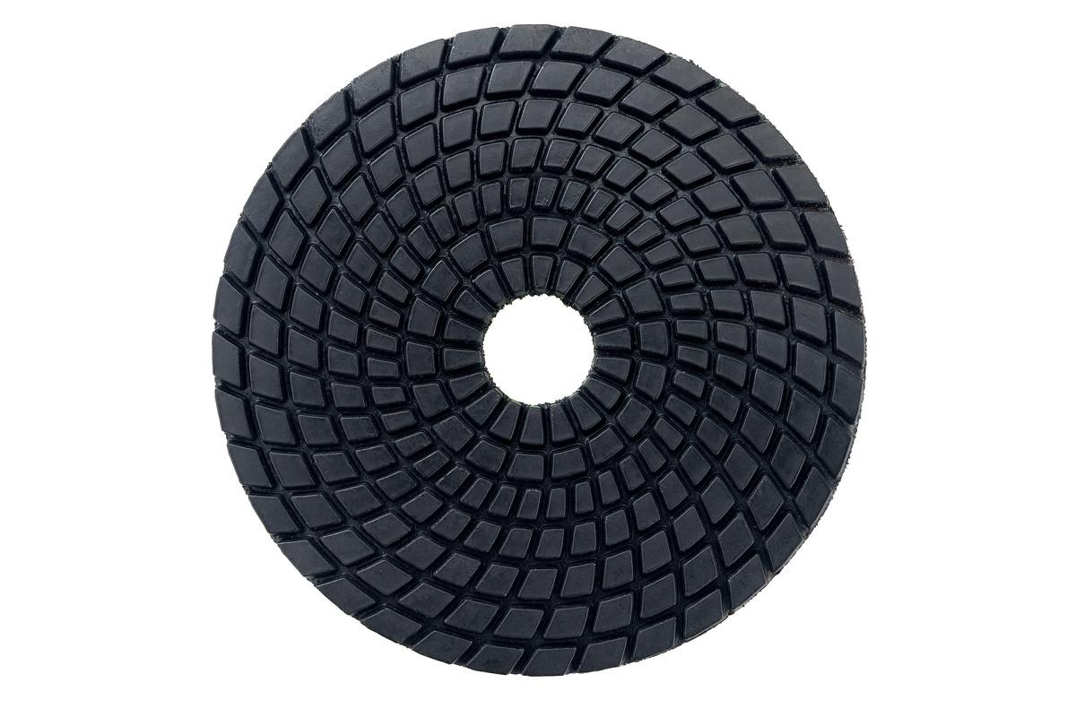 5 disques à polir auto-agrippants diamantés, Ø 100 mm, K 800, pour application sous eau (626143000)