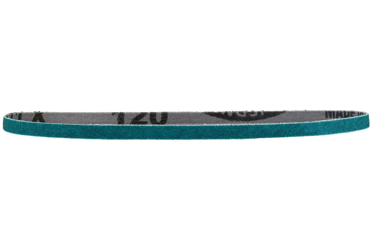 10 bandes abrasives 19 x 457 mm, P60, corindon de zirconium, limes à bande (626353000)