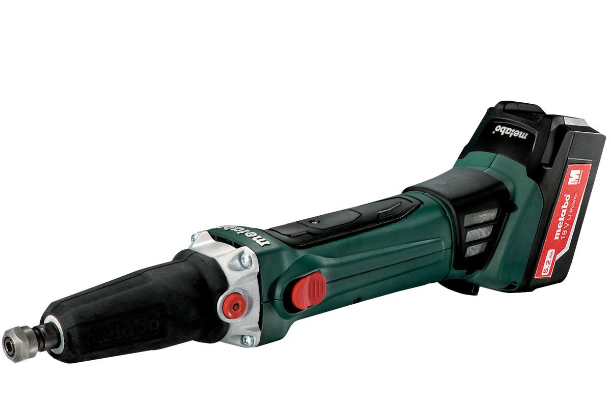 GA 18 LTX (600638650) Smerigliatrice diritta a batteria