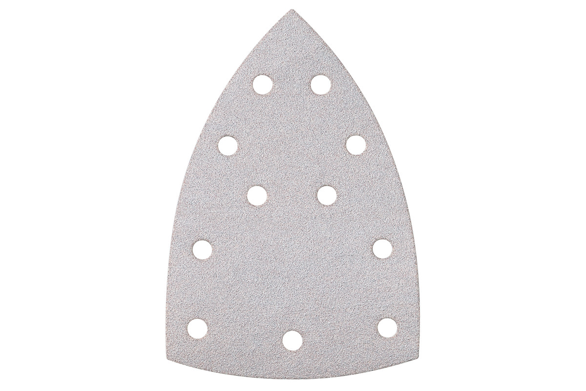 10 fogli abrasivi autoaderenti100x150 mm, assortimento, vernici, MS (625618000)