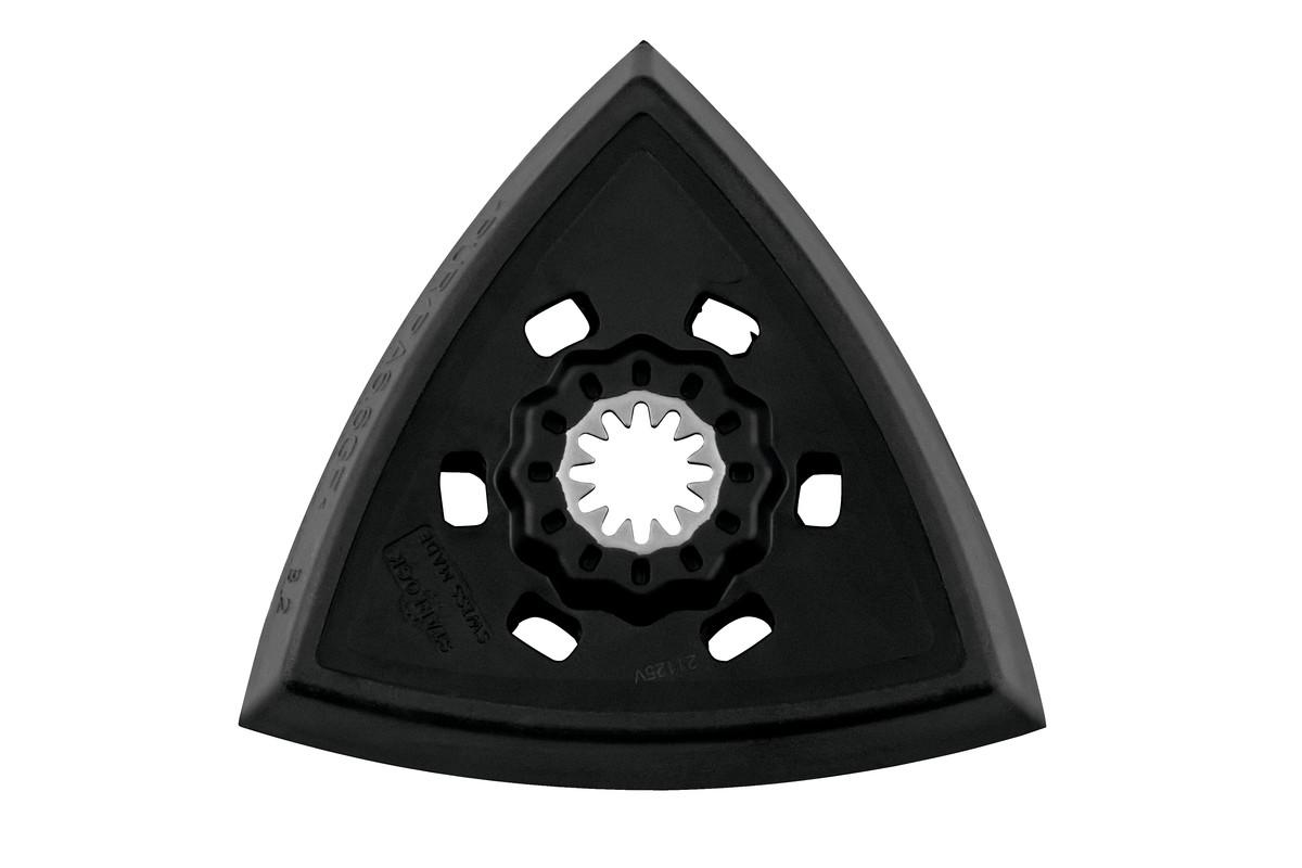 """Piastra di levigatura triangolare """"Starlock"""" 93 mm con fissaggio autoaderente (626944000)"""