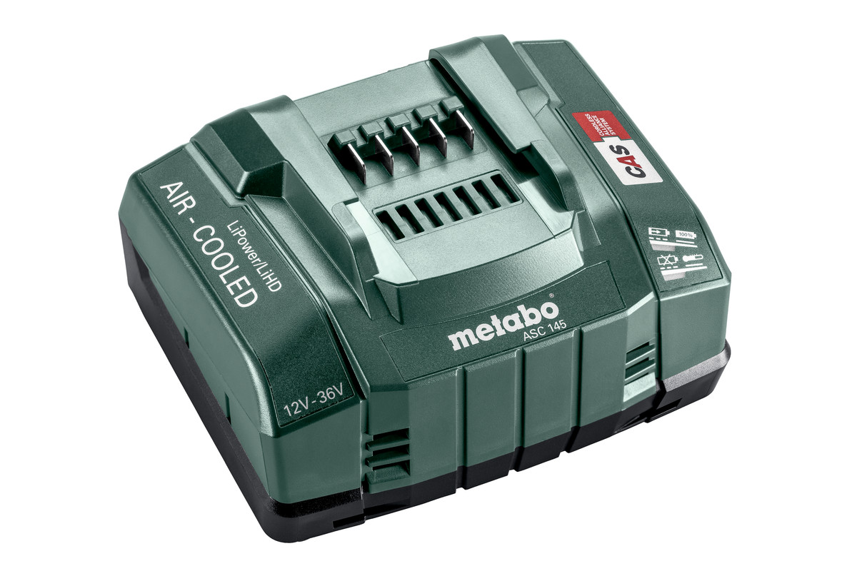 Chargeur rapide ASC 145 , 12-36 V, « AIR COOLED », EU (627378000)