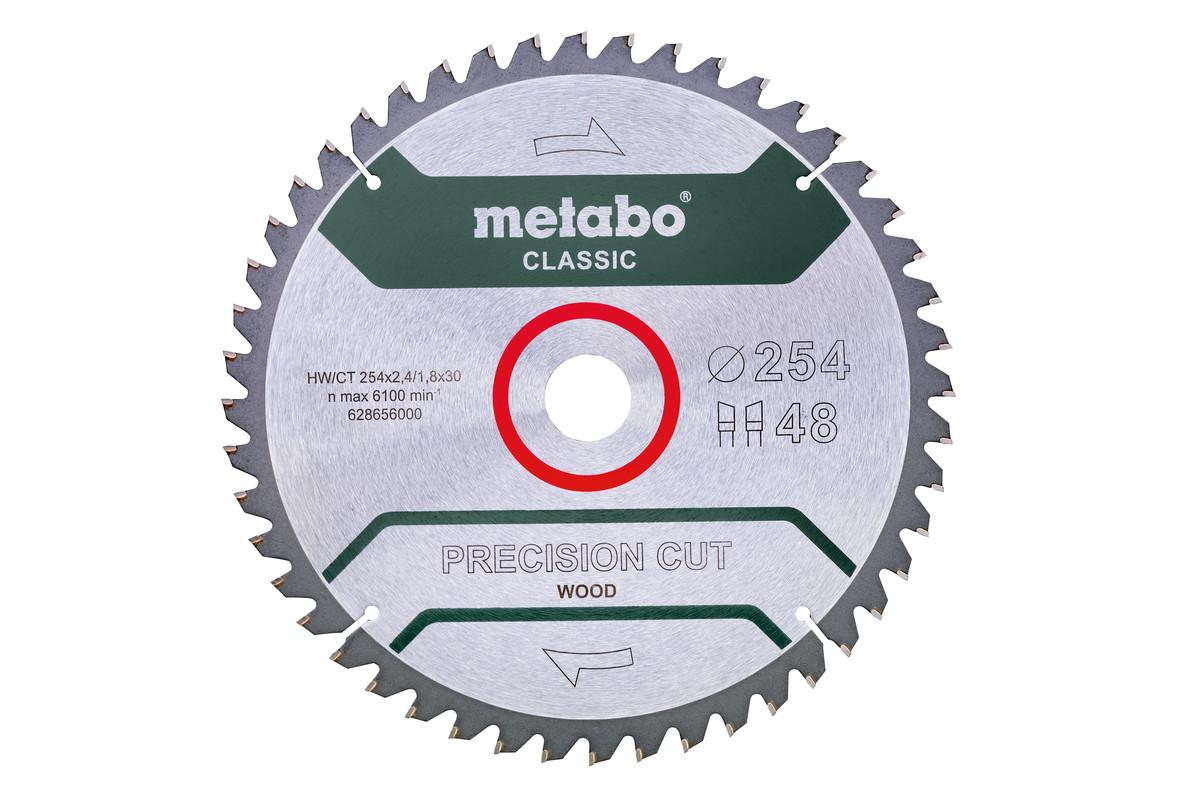 "Lama ""precision cut wood - classic"""", 254x30 Z48 WZ 5°neg /B (628656000)"