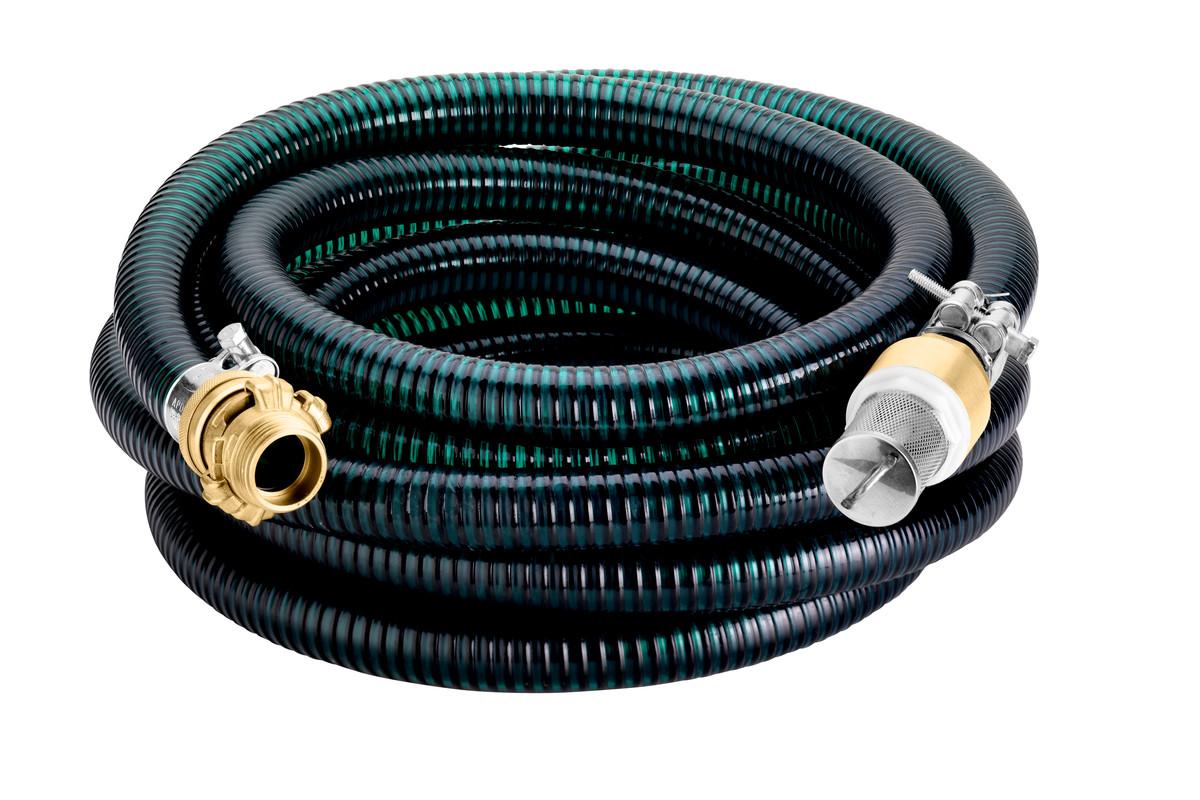 Set de flexible d'aspiration laiton 7 m, 1'' (25 mm) (628798000)