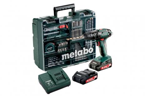 SB 18 Set (602245870) Trapano-avvitatore a percussione a batteria