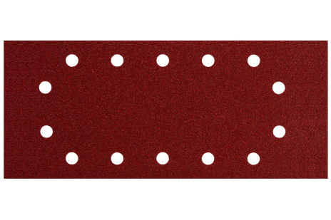 10 feuilles abrasives auto-agrippantes 115 x 280 mm, P 180, B+M, pour ponceuse vibrante (624496000)