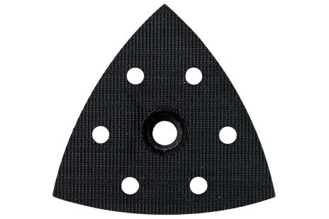 Patin perforé pour ponceuse à patin triangulaire, à bande auto-agrippante (624992000)