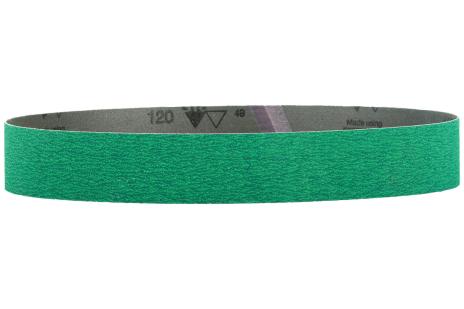 10 bandes abrasives 30 x 533 mm, P120, GC, meuleuse de tubes (626289000)
