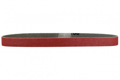 10 bandes abrasives 19 x 457 mm, P80, corindon brun, BFE (626340000)