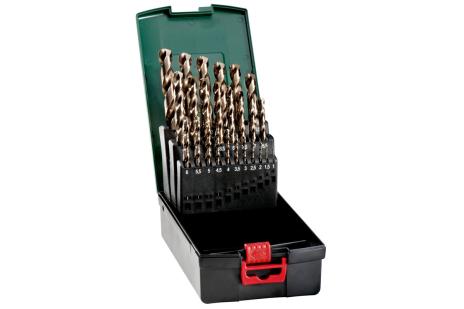 Serie punte per metalli HSS-Co, 25 pezzi (627122000)