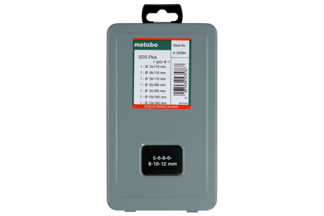 SDS-plus Pro 4-Bohrersatz 7-teilig (630584000)