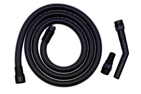 Flexible d'aspiration Ø-32 mm,L 3,5 m,ASA 25/30 L PC/Inox (631337000)