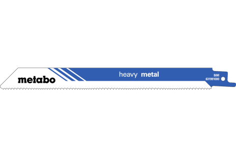 5 lame per seghe diritte, metallo, profes., 200x1,25 mm (631991000)