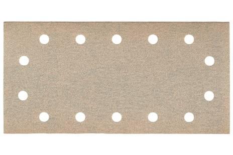 25 feuilles abrasives auto-agrippantes 115 x 230 mm, P 120, peinture, pour ponceuse vibrante (625895000)