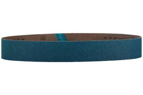 10 bandes abrasives 40 x 760 mm, P120, corindon de zirconium, meuleuse de tubes (626307000)