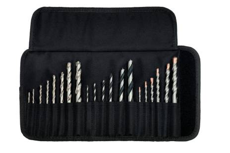 Custodia in tessuto avvolgibile assortimento di punte SP, 20 pezzi (626729000)