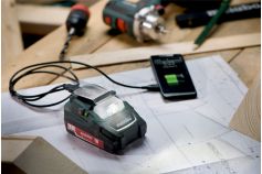 PA 12 LED-USB (600288000) Adattatori batteria Power