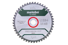 "Sägeblatt ""precision cut wood - classic"", 254x30, Z48 WZ 5°neg. (628061000)"
