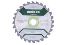 "Sägeblatt ""cordless cut wood - classic"", 216x30 Z28 WZ 5°  (628284000)"