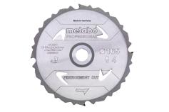 Lame de scie « fibercement cut - professional », 160x20 Z4 DFZ 5° (628287000)