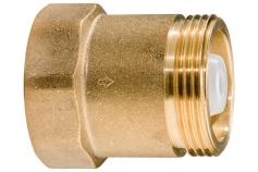 """Clapet antiretour en laiton 1 1/4"""" (628805000)"""