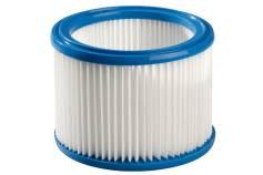 Filtro pieghettato per ASA 25/30 L PC/ Inox, categoria polveri M (630299000)