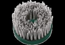 Cepillos de copa con alambres plásticos