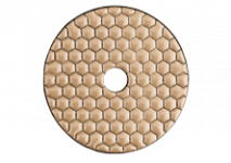 Diamond self-adhesive polishing discs, dry