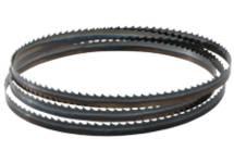 Hojas para sierras de cinta para madera y plásticos