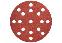"Hook and loop sanding sheets Ø 125 mm, ""multi-hole"""