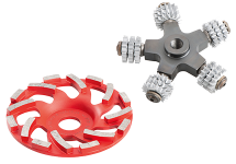 Renovation milling machine/grinder