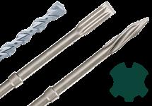 SDS-max drill/chisel bits