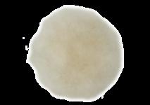 Hook and loop lambs fleece polishing discs