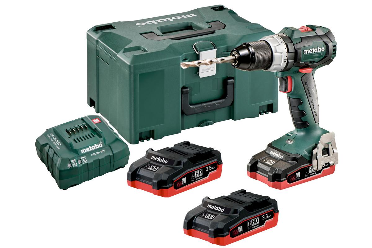 SB 18 LT BL Set (602316930) Cordless Impact Drill