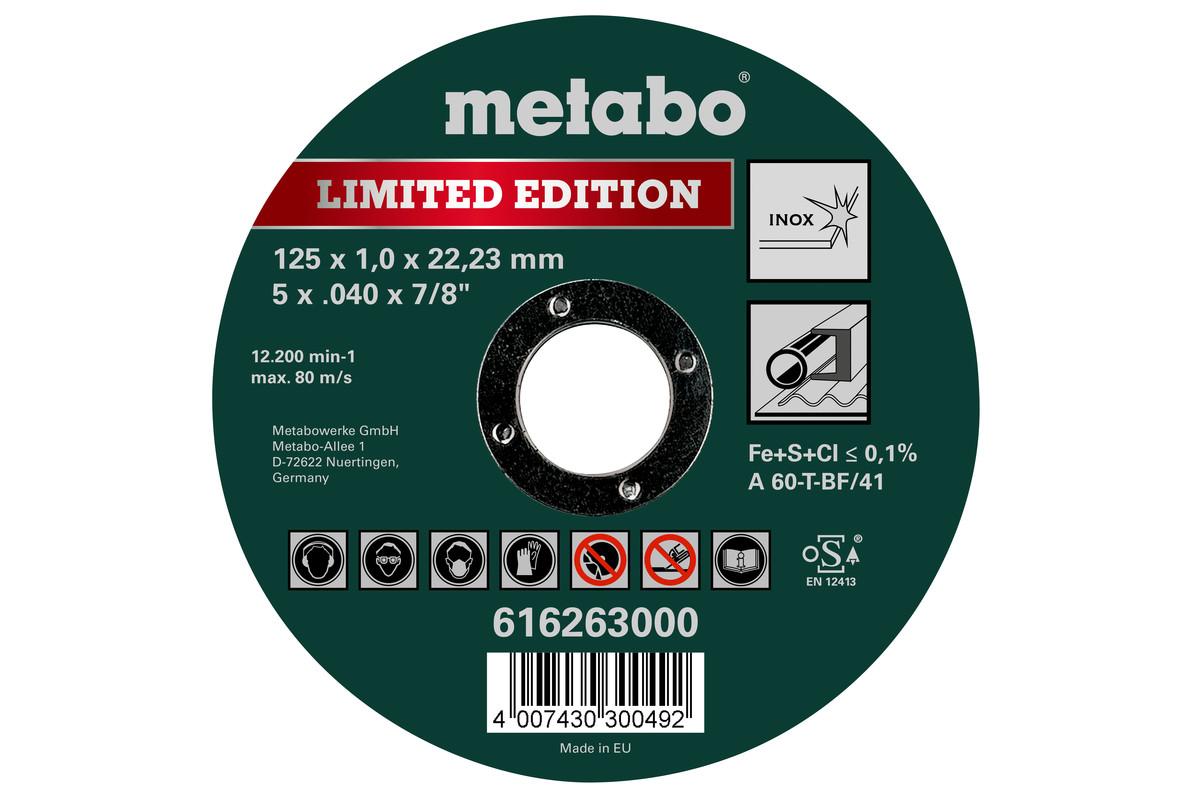 Edición especial II 125 x 1,0 x 22,23 Inox, TF 41 (616260000)