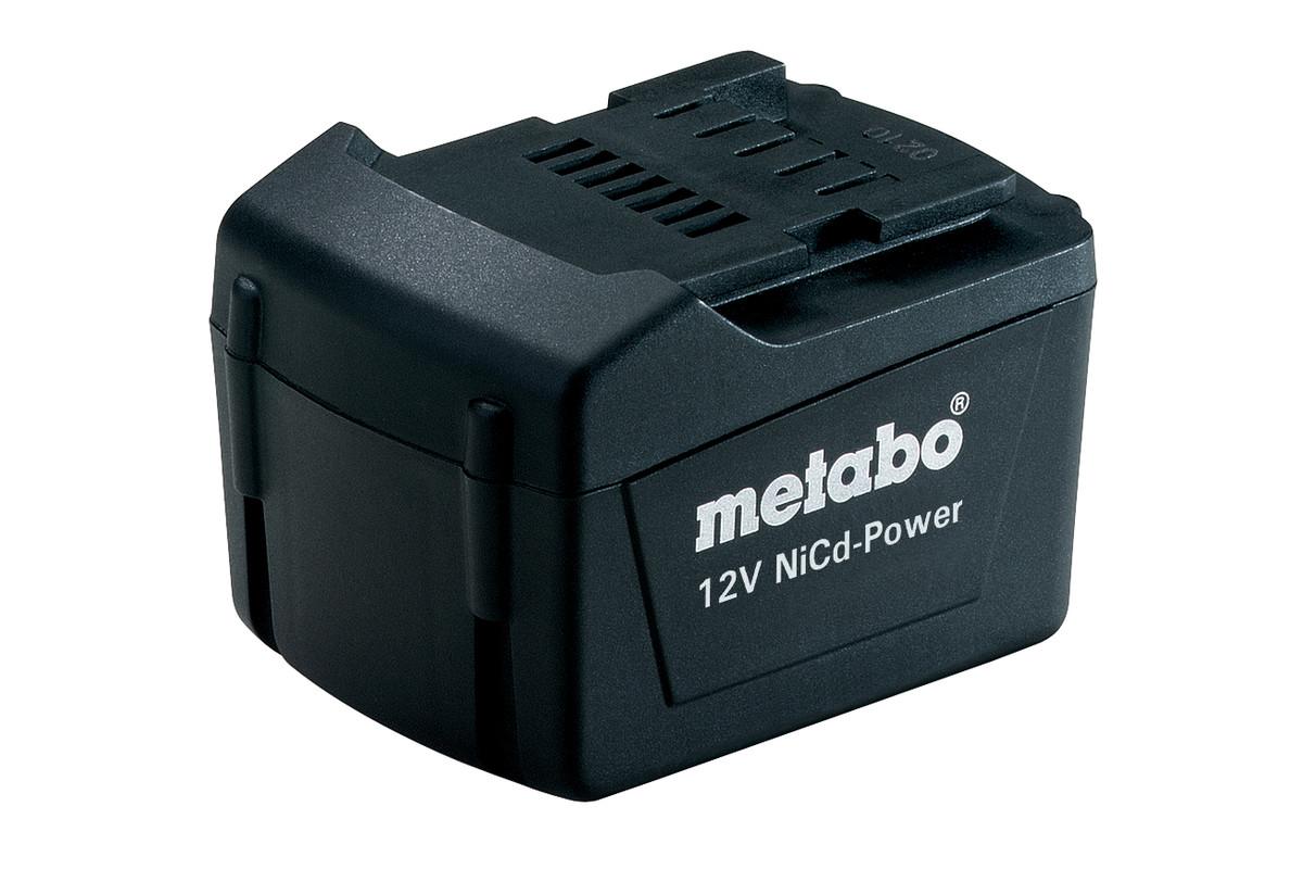 Battery pack 12 V, 1.7 Ah, NiCd power (625452000)