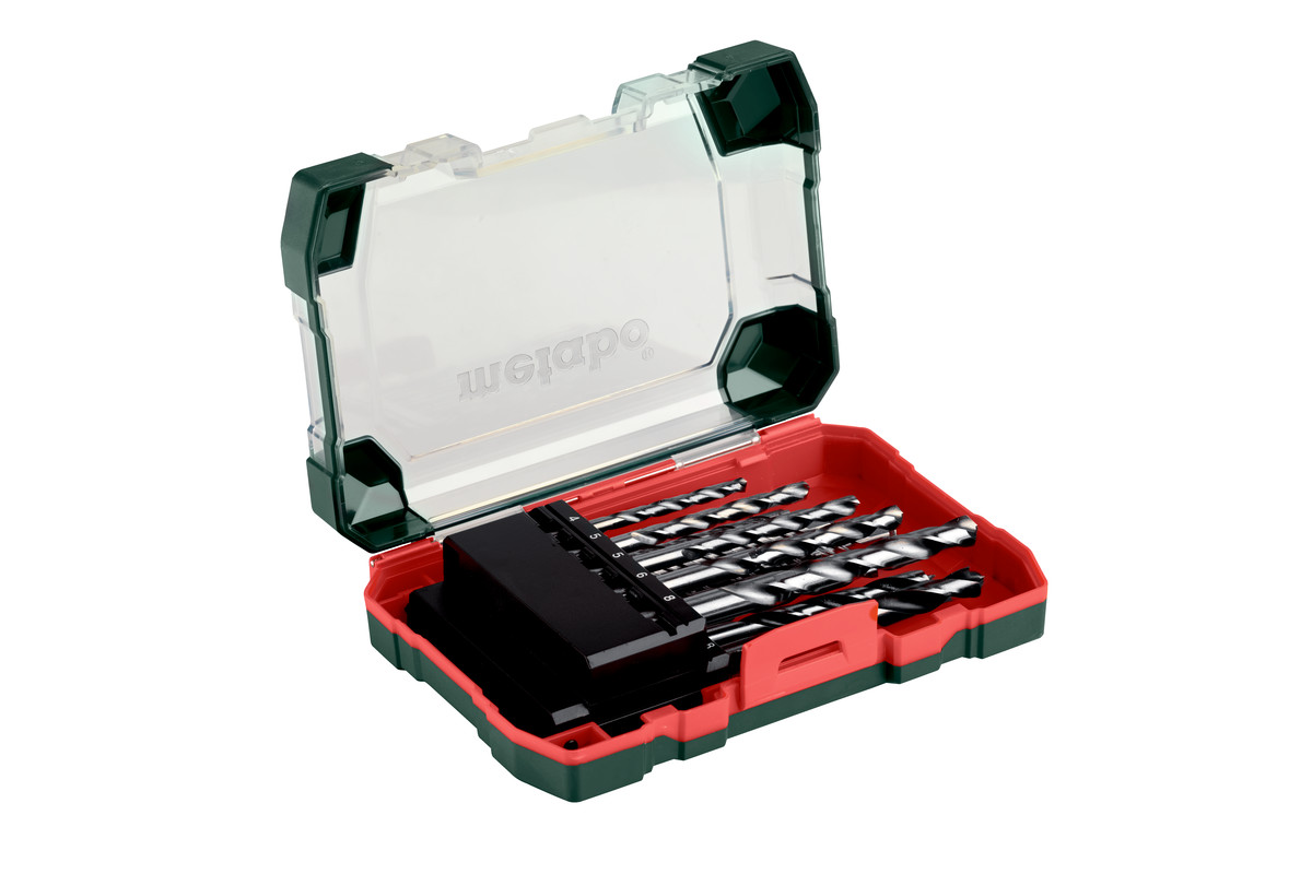 "Drill bit assortment roll-up case ""SP"", 13 pieces (626728000)"