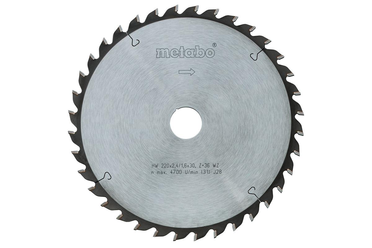 Circular saw blade HW/CT 152 x 20, 12 FZ 15° (628001000)
