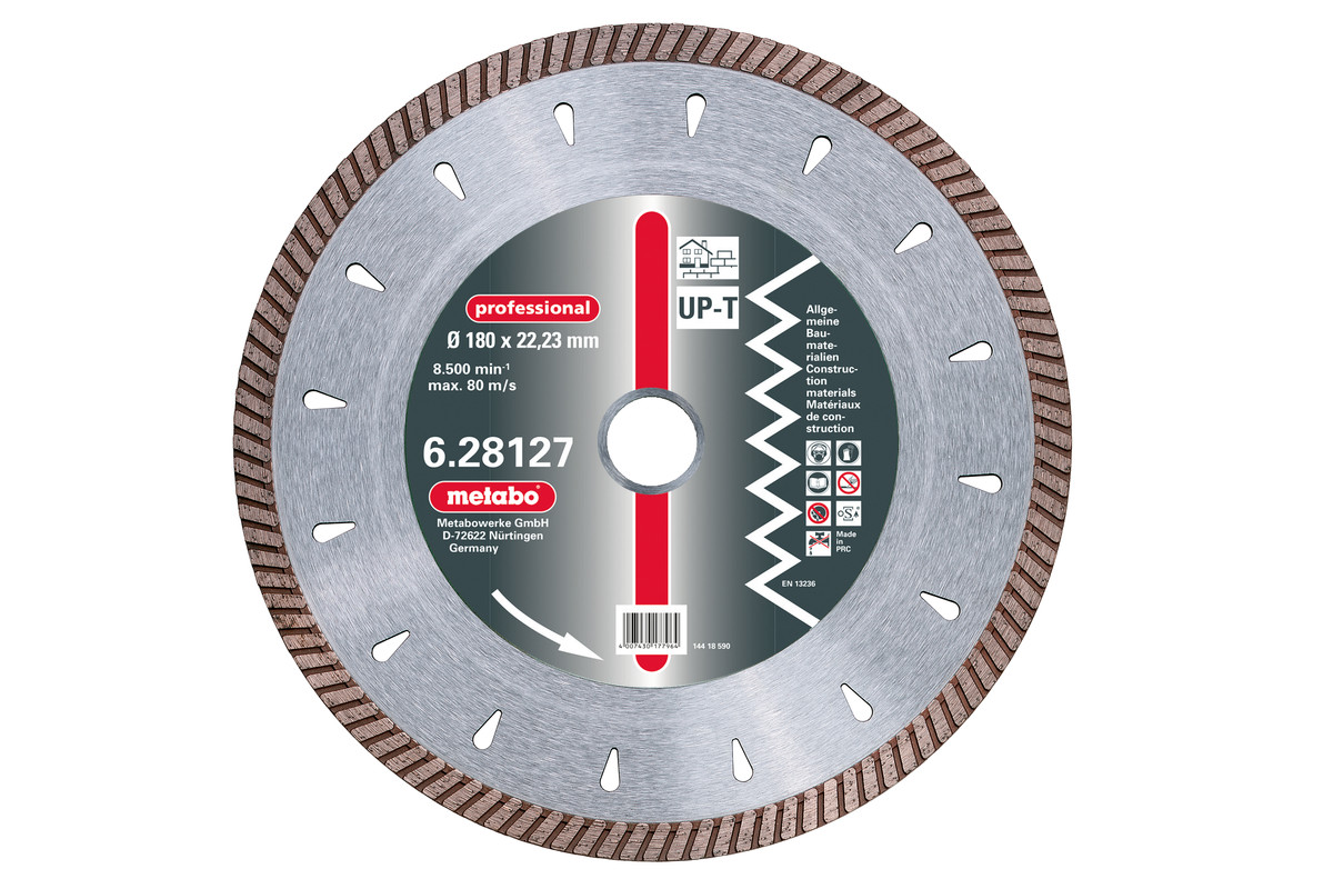 "Dia-TS 180 x 2.5 x 22.23mm, ""professional"", ""UP-T"", Turbo, universal (628127000)"