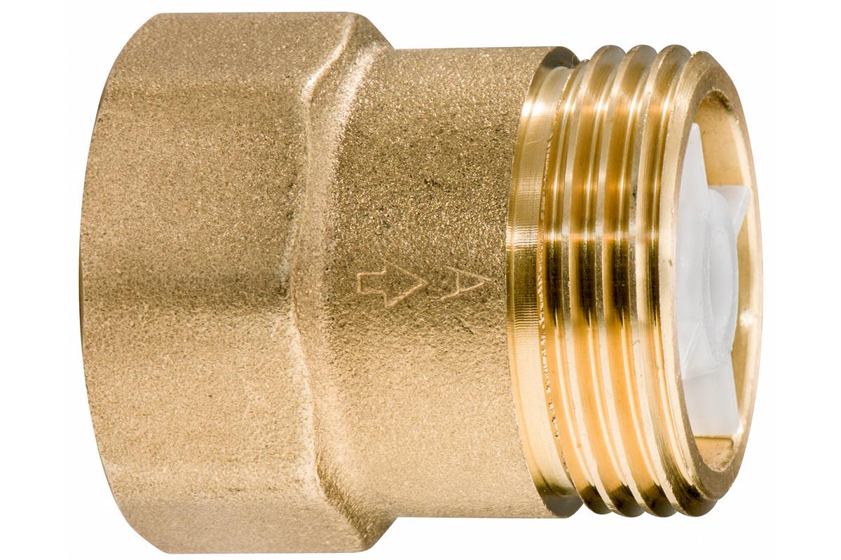 "Brass check valve 1"" (628803000)"