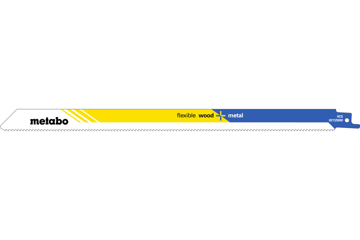 2 Sabre saw blades,W+M,classic,300 x 0.9 mm (631125000)