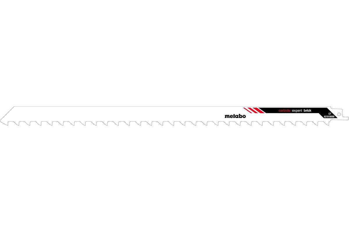 Sabre saw blade, porous concrete, expert, 400x1.5 mm (631819000)