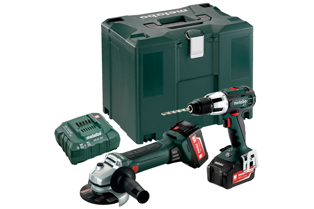 Combo Set 2.4.2 18 V (685039000) Cordless Machines in a Set