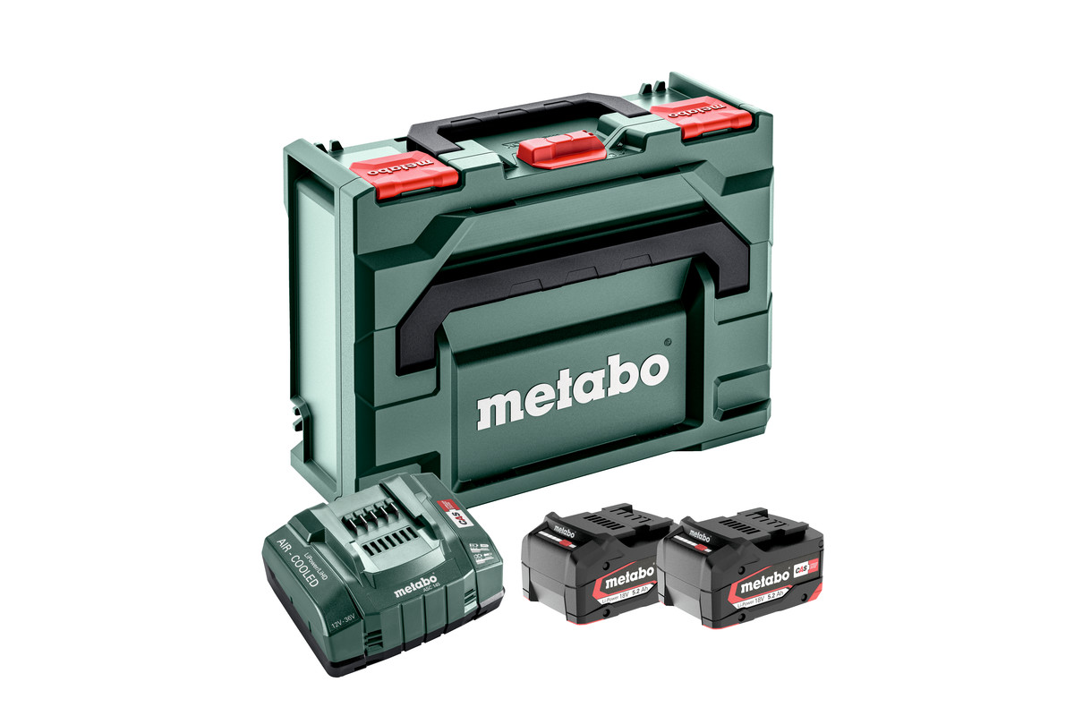 Set básico 2 x 5.2 Ah + Metaloc (685065000)