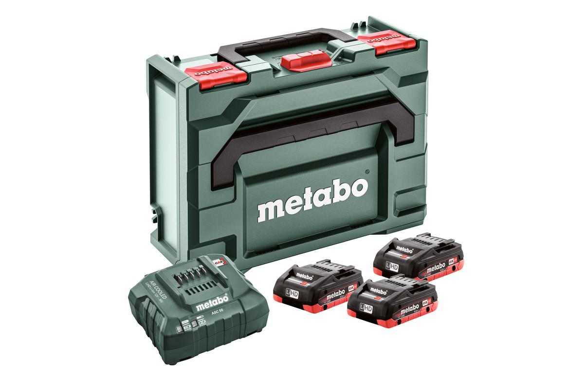 Basic set 3 x LiHD 3,5Ah + Metaloc (685133000)